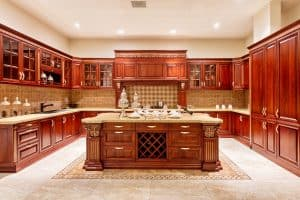 Upscale Cherry Kitchen Cabinets