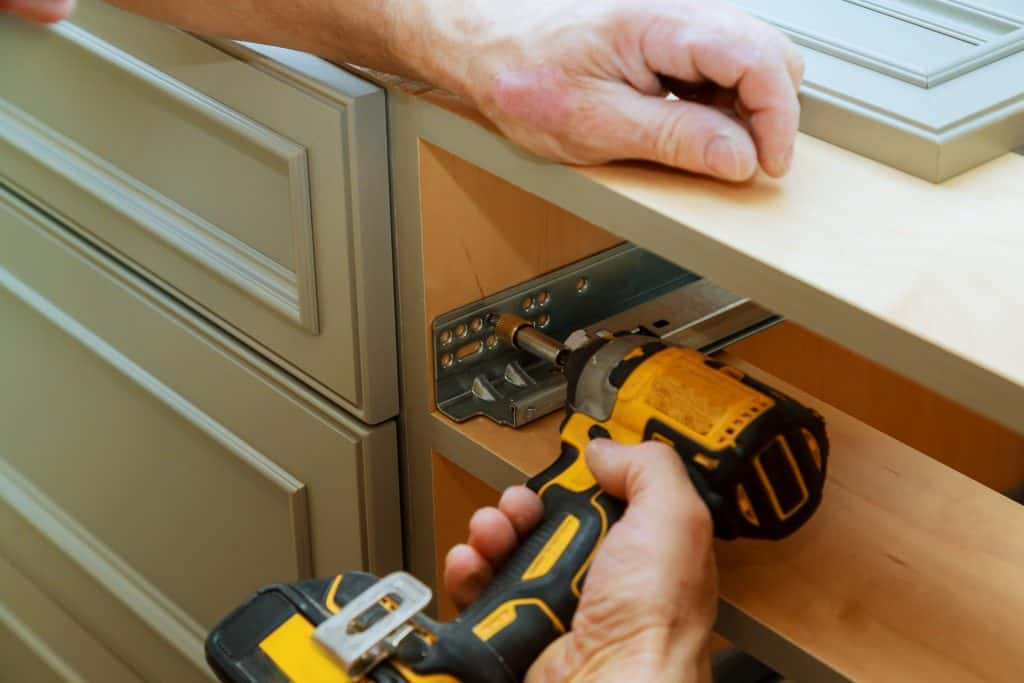 Kitchen cabinet repairs