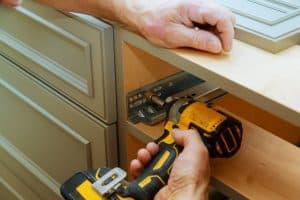 Kitchen cabinet repairs